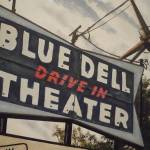 """Blue Dell Drive In Theater"" by Guentart"