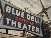 Blue Dell Drive In Theater
