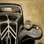 """Citroen vintage car"" by Ambika"