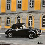 """vintage car"" by Ambika"