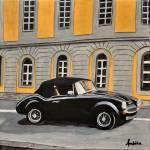 """vintage car"" by Ambika"