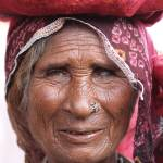 """Old woman in Pushkar"" by markseath"