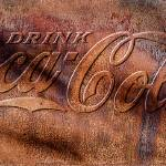 """Rusty Coca Cola Cooler Front"" by mtn-images"
