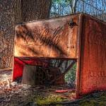 """""""Rusty Coca Cola Cooler"""" by mtn-images"""