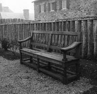 Bench at Fort  Louisbourg