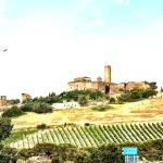 """Tarquinia: landscape watercolor"" by giuseppecoccofotografo"