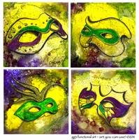 The Mask of Mardi Gras by GG Burns