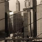 """New York City from Brooklyn Bridge #1"" by DanK"