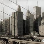 """New York City from Brooklyn Bridge #2"" by DanK"