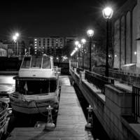 Night, Docked at the Riverside