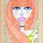 """""""Red Haired Beauty"""" by BlackPumpkin"""