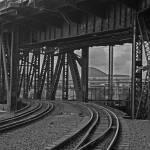 """""""Rail tracks in Portland."""" by TEHuchton"""