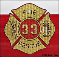 Kerhonkson Fire Company / Emblems on Car 33