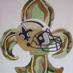"""Saints Camo I"" by alancomardelle"