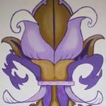 """""""Cornhusk Fleur De Lis"""" by alancomardelle"""