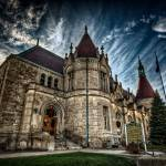 """Saginaw Castle Post Office"" by JamesHowePhotography"