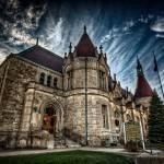 """Saginaw Castle Post Office"" by JamesHowePhotography"