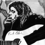 """Kurt Cobain - 27 Club Series"" by NateWilliams"