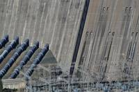 Shasta Dam Spillway and Power Station
