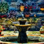 """San Juan Mission Fountain"" by johncorney"