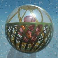 Virtual Glass Sphere XIII