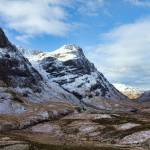 """Winter Mountains of Glencoe"" by derekbeattieimages"