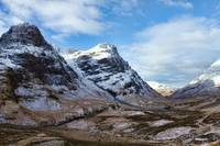 Winter Mountains of Glencoe