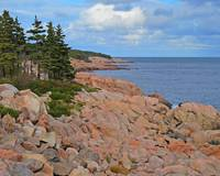 Pink Rocks at Green Cove