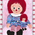 """Raggedy Ann and baby Ann"" by StrandStudio"