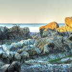 """The RockFormations  Rye Beach NH"" by jkphotos"