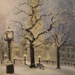"""Winter Watertower"" by RanaLee"