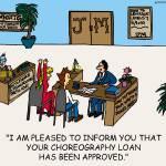 """Choreography"" by gymnasticscartoons"