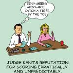 """Judge Kent"" by gymnasticscartoons"