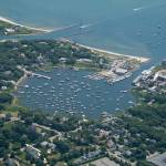 """Whychmere Harbor Aerial Photo (Harwich, Cape Cod)"" by ChrisSeufert"