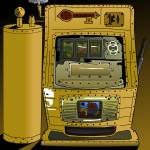 """Steampunk slot machines"" by Casino"