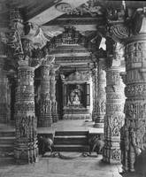 Dilivarra Temple, India c1900 by WorldWide Archive