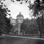 """michigan-uofm0universityhall-1900-1910"" by North22Gallery"