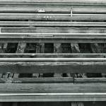 """Railroad Tracks along the Hudson - 1981"" by Fotofrieze"