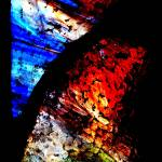 """Stained Glass Abstract"" by stevekeefer"