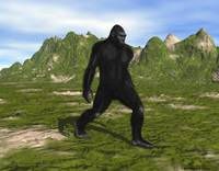 Bigfoot Striding