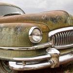 """Vintage 1951 Nash Ambassador Front End"" by lightningman"