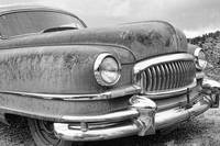 1951 Nash Hydra-Matic Front End BW