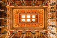 Library of Congress Ceiling in Color