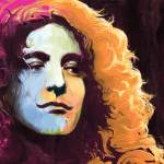 """Robert Plant - Led Zeppelin"" by saurabhdey"
