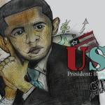 """Barack Obama 44th President"" by GTArtland"