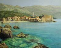 Bay Near Budva, Montenegro