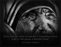 Inspirational Portrait - Mother Teresa