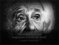 Inspirational Portrait - Albert Einstein