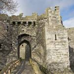 """Entrance to Beaumaris castle"" by ccrcats"