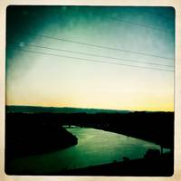 San Lorenzo River Sunset